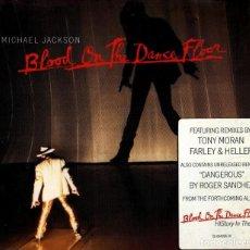 CDs de Música: MICHAEL JACKSON. BLOOD ON THE DANCE FLOOR. FEATURING REMIXES TONY MORAN FARLEY & HELLER. CD SINGLE.. Lote 188773928