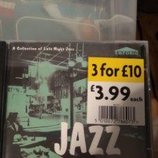 CDs de Música: VARIOUS – JAZZ AFTER HOURS. Lote 188774332