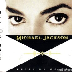 CDs de Música: MICHAEL JACKSON. CD. MAXI SINGLE. BLACK OR WHITE + INSTRUMENTAL + SMOOTHE CRIMINAL.. Lote 188795613