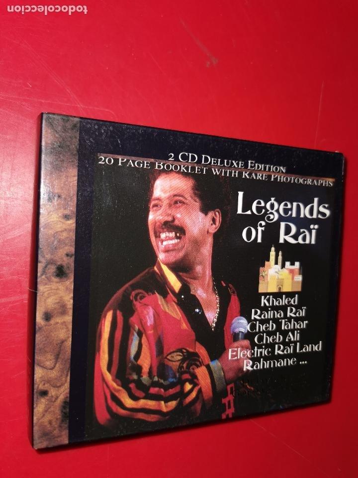 LEGENDS OF RAÏ 2 CD (Música - CD's Otros Estilos)