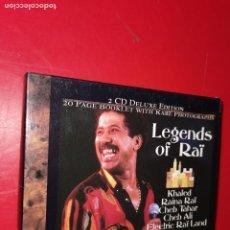 CDs de Música: LEGENDS OF RAÏ 2 CD. Lote 188824816