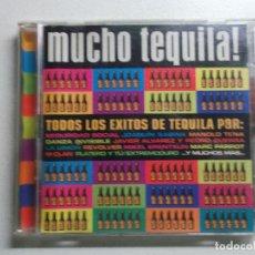 CDs de Música: MUCHO TEQUILA! - 2 CDS, 1996 (SABINA, MANOLO TENA, REVOLVER, LOS SECRETOS, M CLAN,. Lote 188826118