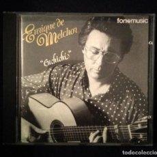 CDs de Música: CD 1992 ENRIQUE DE MELCHOR (VER FOTOS) FLAMENCO. Lote 188831682