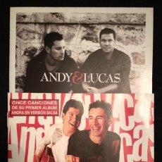 CDs de Música: LOTE 2 CD ANDY Y LUCAS (VER FOTOS). Lote 188838103