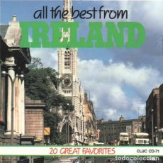 CDs de Música: ALL THE BEST FROM IRELAND - CD. Lote 189074057