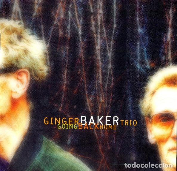 GINGER BAKER TRIO – GOING BACK HOME 1994, BILL FRISELL, CHARLIE HADEN + LIBRETO 8 PAG. (Música - CD's Jazz, Blues, Soul y Gospel)