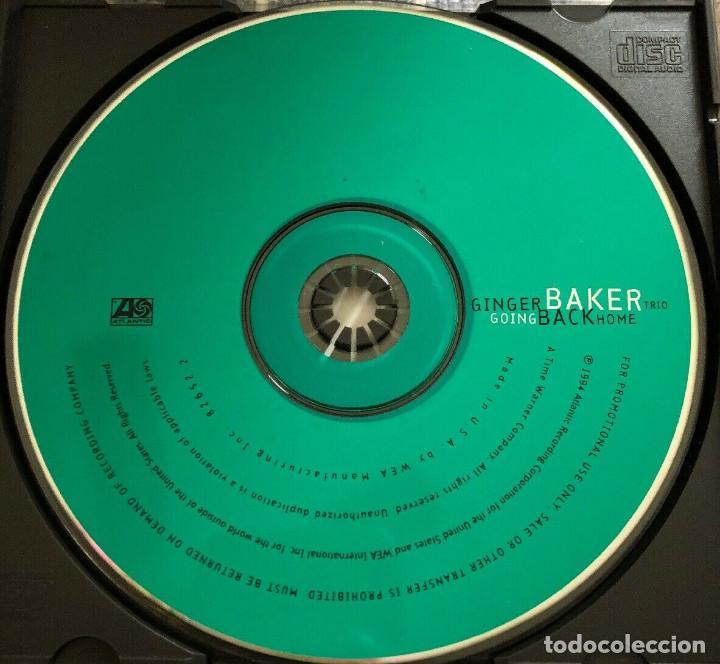 CDs de Música: Ginger Baker Trio – Going Back Home 1994, Bill Frisell, Charlie Haden + libreto 8 pag. - Foto 2 - 189082210