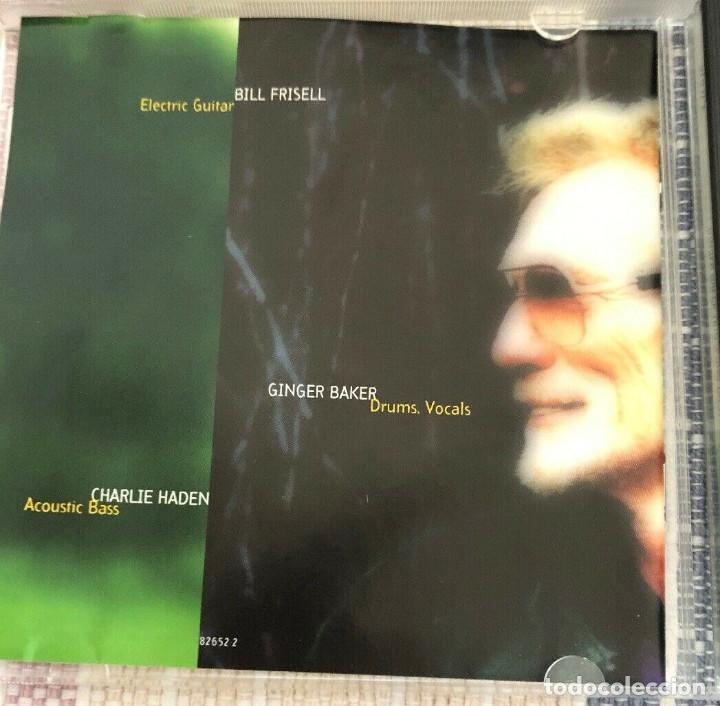 CDs de Música: Ginger Baker Trio – Going Back Home 1994, Bill Frisell, Charlie Haden + libreto 8 pag. - Foto 3 - 189082210