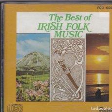 CDs de Música: THE BEST OF IRISH FOLK - CD. Lote 189083473