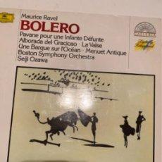 CDs de Música: MAURICI RAVEL BOLERO. Lote 189103328