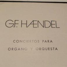 CDs de Música: HAENDEL, CONCIERTOS PARA ÓRGANO Y ORQUESTA. Lote 189103512