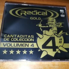 CDs de Música: RADICAL GOLD VOLUMEN 4 CANTADITAS DE COLECCION 2 CD + DVD PRECINTADO AÑO 2006 32 TEMAS DISCO. Lote 204136516