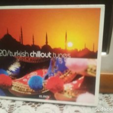 CDs de Música: TURKISH CHILLOUT TUNES. Nº 20, COLECCIÓN MÚSICA CHILLOUT EL PAÍS. CD PEPETO. Lote 189122488