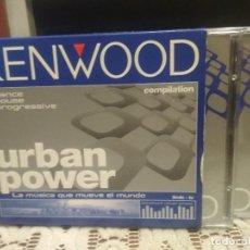 CDs de Música: KENWOOD - URBAN POWER - CD TRIPLE HOUSE DANCE PROGRESSIVE . Lote 189123936