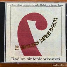 CDs de Música: THE FINNISH RADIO SYMPHONY ORCHESTRA // JUKKA - PEKKA SARASTE; JAAKO RYHÄNEN, BASSO, BASS. Lote 189125806