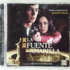 CDs de Música: LA FUENTE AMARILLA.SANTI VEGA...DIFICIL BSO. Lote 189192530