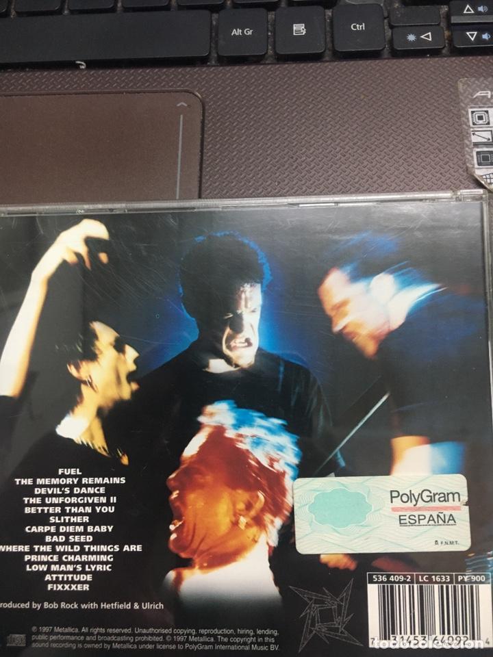 CDs de Música: Metállica -Reload CD Heavy Metal Hard Rock - Foto 2 - 189194588