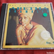 CDs de Música: THE VERY BEST OF ARETHA FRANKLIN, VOL. 2 (CD). Lote 189203848