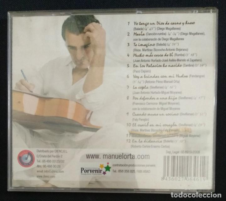 CDs de Música: Lote 3 CD flamenco MANUEL ORTA fandangos - sevillanas - zambra - rumba (ver fotos) - Foto 3 - 189204988