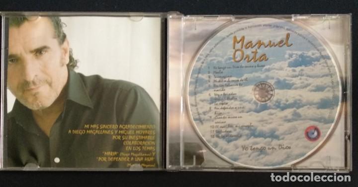 CDs de Música: Lote 3 CD flamenco MANUEL ORTA fandangos - sevillanas - zambra - rumba (ver fotos) - Foto 4 - 189204988