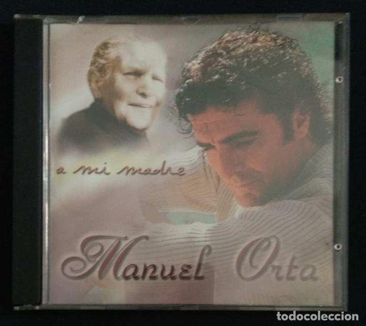 CDs de Música: Lote 3 CD flamenco MANUEL ORTA fandangos - sevillanas - zambra - rumba (ver fotos) - Foto 5 - 189204988