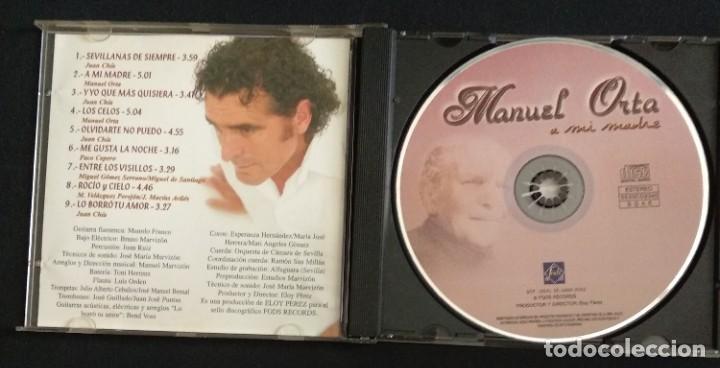 CDs de Música: Lote 3 CD flamenco MANUEL ORTA fandangos - sevillanas - zambra - rumba (ver fotos) - Foto 7 - 189204988