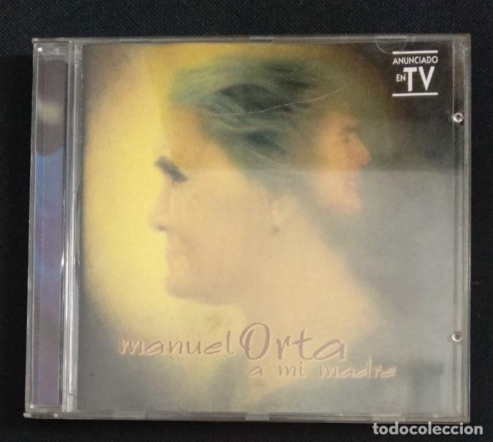 CDs de Música: Lote 3 CD flamenco MANUEL ORTA fandangos - sevillanas - zambra - rumba (ver fotos) - Foto 8 - 189204988