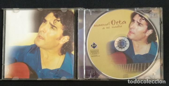 CDs de Música: Lote 3 CD flamenco MANUEL ORTA fandangos - sevillanas - zambra - rumba (ver fotos) - Foto 10 - 189204988
