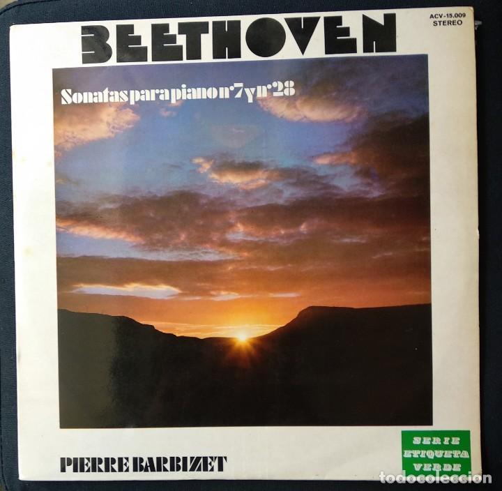 DISCO 1972 LP MUY RARO BEETHOVEN MÚSICA CLÁSICA (Música - CD's Clásica, Ópera, Zarzuela y Marchas)