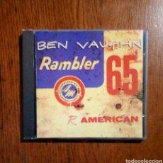 CDs de Música: BEN VAUGHN - RAMBLER 65, MUNSTER RECORDS CD 066, 1995. SPAIN.. Lote 189271395