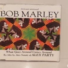 CDs de Música: CD SINGLE PROMOCIONAL / BOB MARLEY/ RE-MIX BY NATALE OF ALEX PARTY.. Lote 189298611