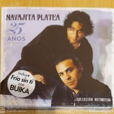 CDs de Música: NAVAJITA PLATEA (25 AÑOS - COLECCIÓN DEFNITIVA) 2 CD'S 2017 * PRECINTADO. Lote 189302031