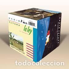 CUBO RADIO FUTURA PRECINTADO 6 CDS + 1 CD RAREZAS / LIBRETO PRECINTADO ¡¡ PEPETO (Música - CD's Pop)