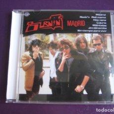 CD de Música: BURNING CD DIVUCSA 1992 - MADRID - ROCK N ROLL CHELI - LIGERAS SEÑALES DE USO. Lote 189371621