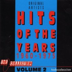 CDs de Música: HITS OF THE YEARS 1960 - 1975 VOLUME 2. Lote 189399950