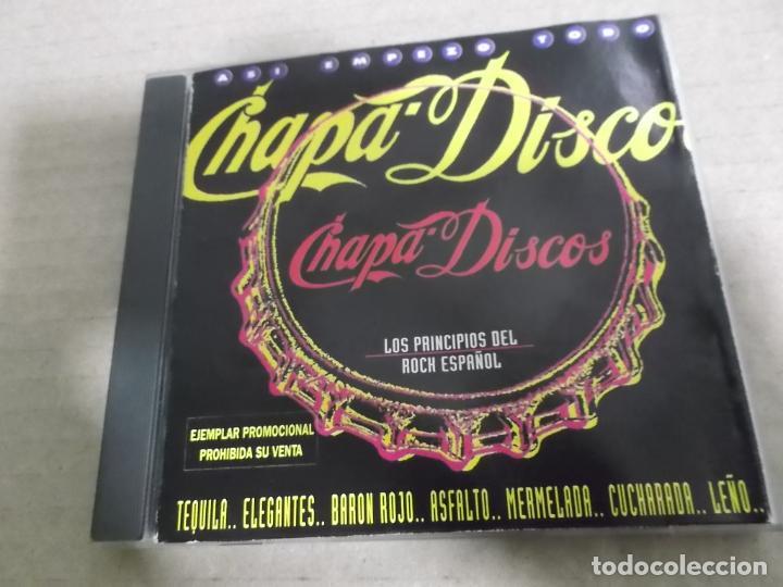 ASI EMPEZO TODO – CHAPA-DISCOS (CD) KAKA DE LUXE, PARAISO, MORIS, MEZQUITA, TOPO, OBUS, SMASH… AÑO – segunda mano