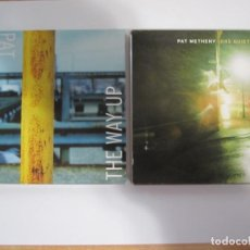 CDs de Música: LOTE 2 CD PAT METHENY ONE QUIET NIGHT THE WAY UP. Lote 189462973