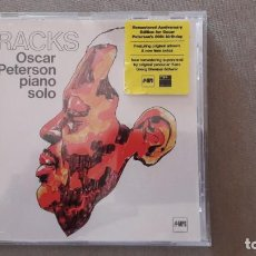 CDs de Música: CD - OSCAR PETERSON: TRACKS. PIANO SOLO. (UNIVERSAL MPS 2005 - 06024 9827011). Lote 189477427