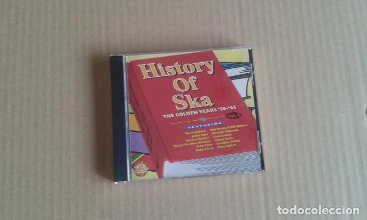VARIOS ARTISTAS - HISTORY OF SKA THE GOLDEN YEARS 58 & 65 CD 1999 (Música - CD's Reggae)