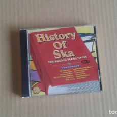CDs de Música: VARIOS ARTISTAS - HISTORY OF SKA THE GOLDEN YEARS 58 & 65 CD 1999. Lote 189499938