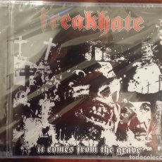 CDs de Música: FREAKHATE – IT COMES FROM THE GRAVE (HECATOMBE RECORDS, 2009) // AUTOPSY ASPHYX COFFINS OBITUARY. Lote 189502730