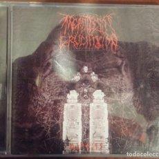 CDs de Música: MERCILESS CRUCIFIXION – AIPESIS (BLACKSEED PRODUCTIONS, 2006) // SARCOFAGO MAYHEM BURZUM DARKTHRONE. Lote 189503942