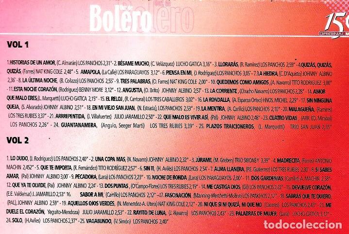 CDs de Música: 2 CD VOZ DE BOLERO 50 BOLEROS - Foto 5 - 45114071