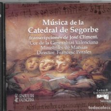 CDs de Música: == CD151 - MUSICA DE LA CATEDRAL DE SEGORBE - 2 CDS. Lote 189535456