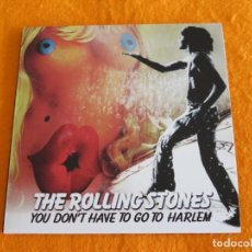 CDs de Música: THE ROLLING STONES - YOU DON'T AHVE TO GO TO HARLEM (CD). Lote 189640847