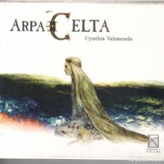 CDs de Música: CYNTHIA VALENZUELA: ARPA CELTA NUEVO PRECINTADO. Lote 189680622