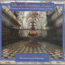 CDs de Música: MEXICO BARROCO I. MAITINES DE NAVIDAD NUEVO PRECINTADO. Lote 189681762