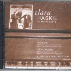 CDs de Música: CLARA HASKIL. MOZART, CASALS, SCHUMANN, SCHURICHT. NUEVO PRECINTADO.. Lote 189693035