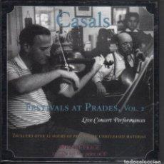 CDs de Música: FESTIVAL CASALS DE PRADES VOL. 2 12 CDS NUEVO PRECINTADO. Lote 189693947