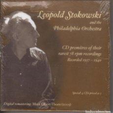 CDs de Música: LEOPOLD STOKOWSKI Y LA ORQUESTA DE FILADELFIA 4 CDS NUEVO PRECINTADO. Lote 189694102